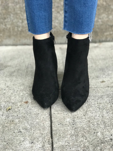 Black Heel Booties