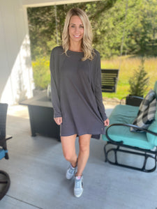 Everyday Grey Dress