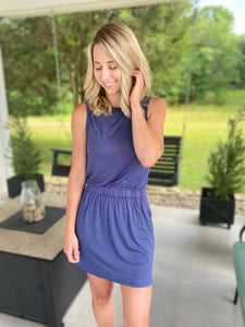 The Perfect Fit Dress, Navy