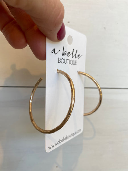 Regular Gold Hoop