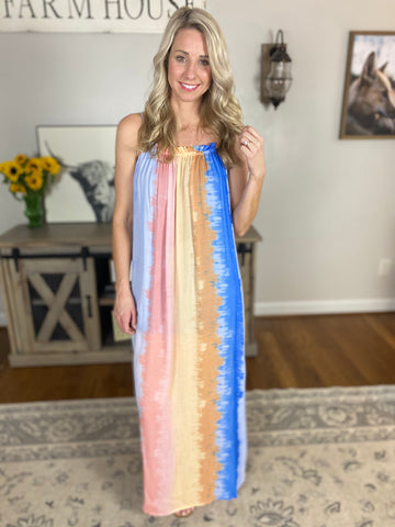 Last Night Maxi Dress, Multicolored