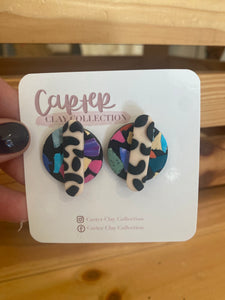 Layered Slab Stud {CarterClay Collection}