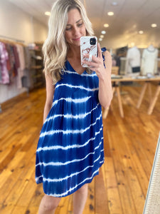 Blue Tiedye Dress