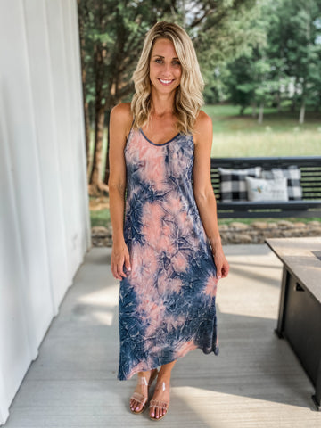TieDye Midi Dress