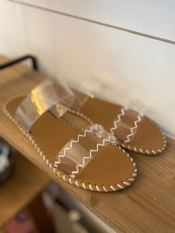 Clear View Sandals