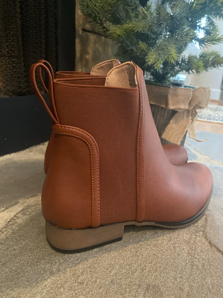 Pull It On Boot, Tan