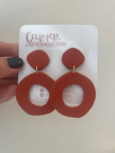 Rust Dangle {CarterClay Collection}