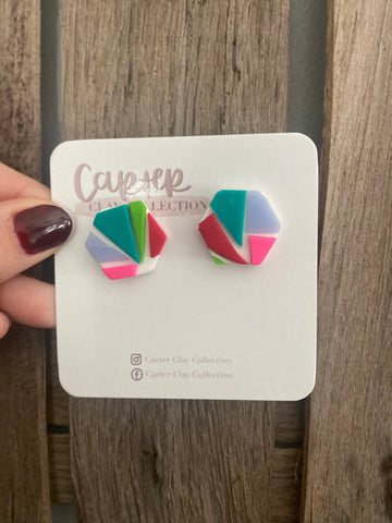 Layered Studs {CarterClay Collection}