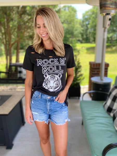 Rock and Roll Tiger Tee