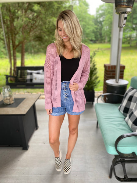 Summer Blush Cardigan