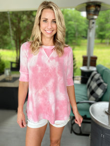 French Terry Tiedye Top