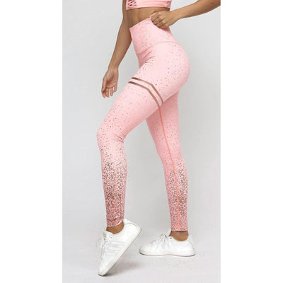 Legging Musculation Femme Flex rose