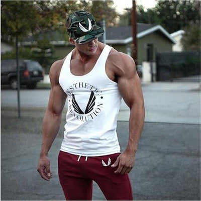 Stringer de Musculation Aesthetic Homme