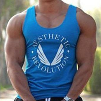 Stringer Aesthetic bleu