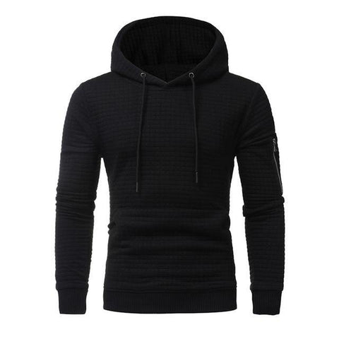 Sweat à capuche noir