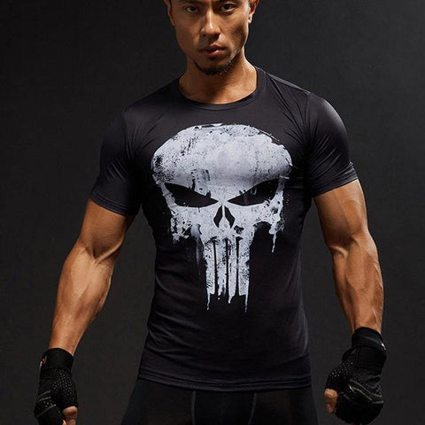 T-shirt Musculation Punisher