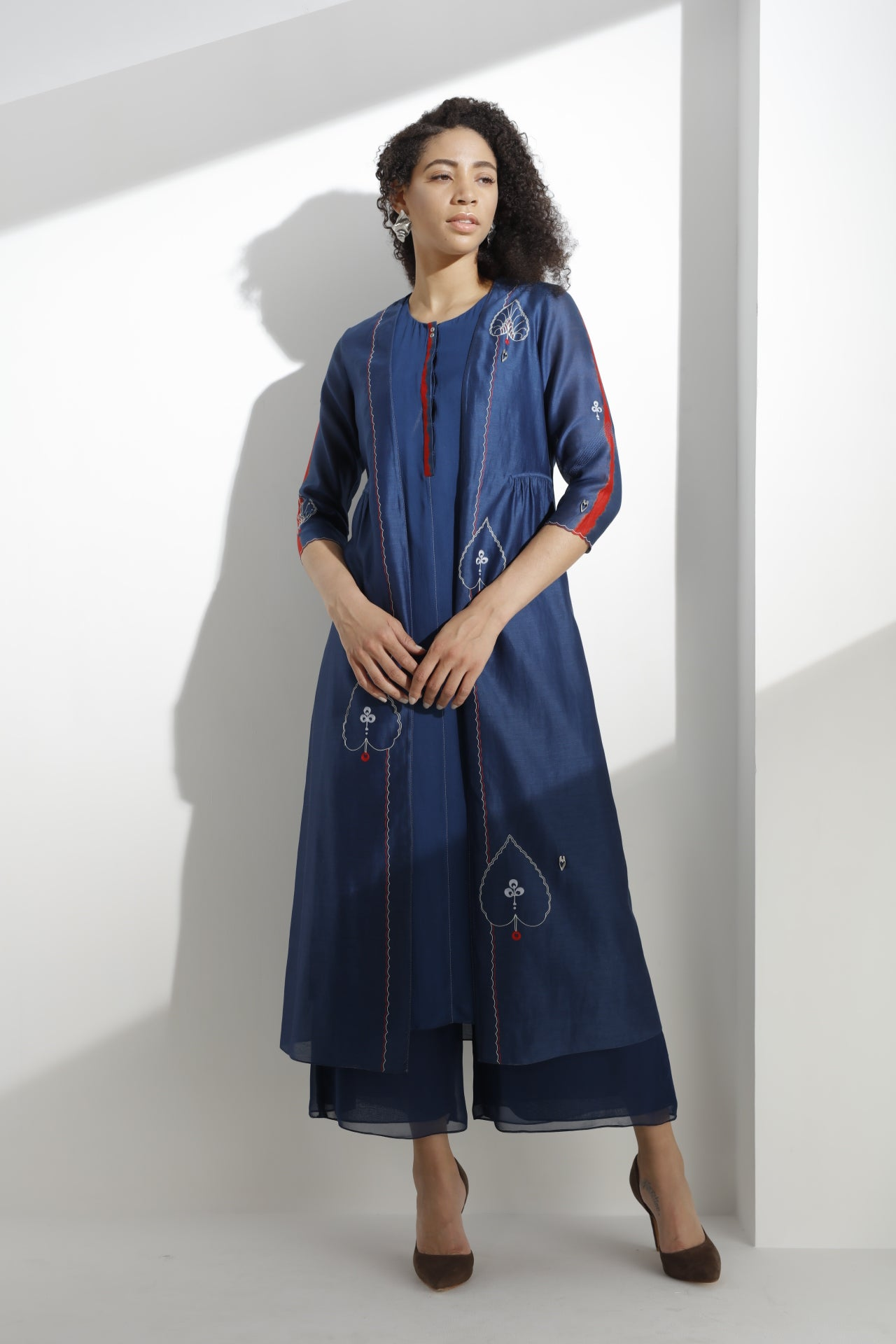 Navy Kurta Set