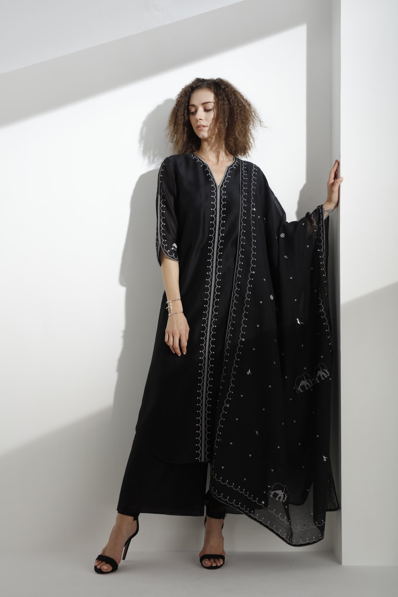 Black Set with Dupatta