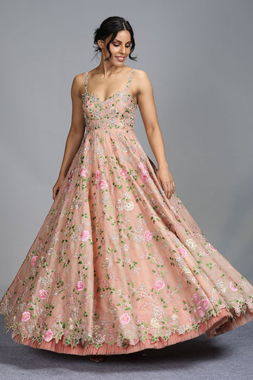 Rooh Gulab Gown