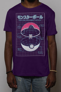 Camiseta Pokeball Chico Rei