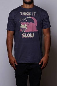 Camiseta Slowpoke Chico Rei