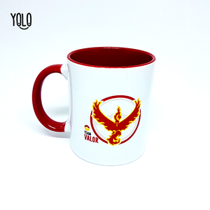 Caneca Color Pokémon Go - Team Valor