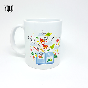 Caneca Library Hermione