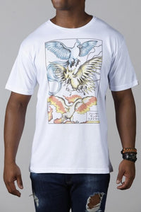 Camiseta Winged Mirages Chico Rei