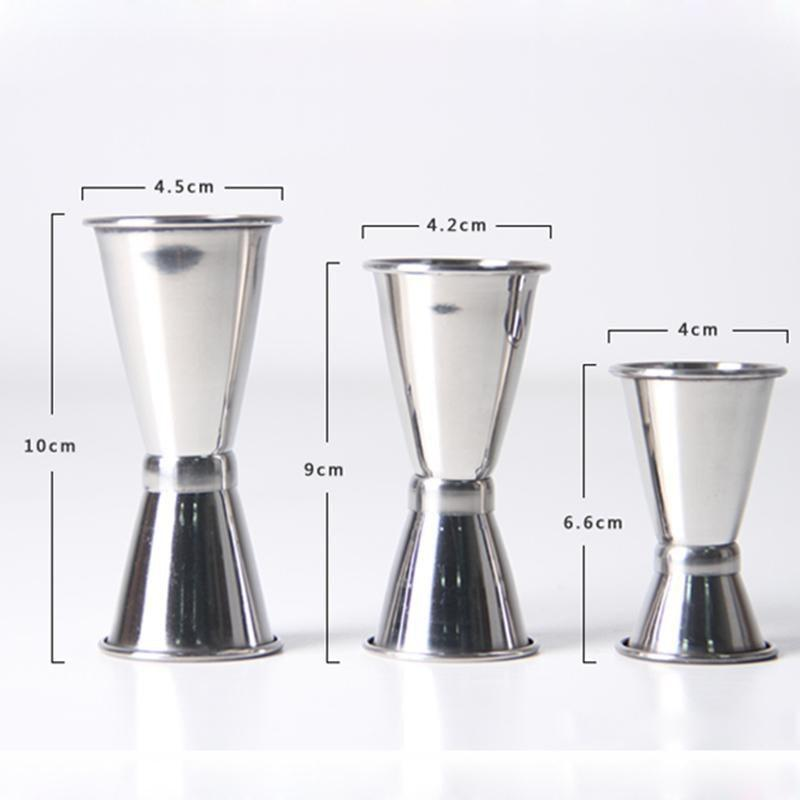 1PC Stainless Steel Bar Jigger Cocktail