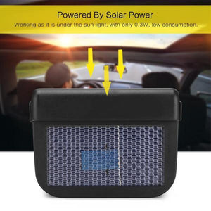 Solar Power Cool Fan
