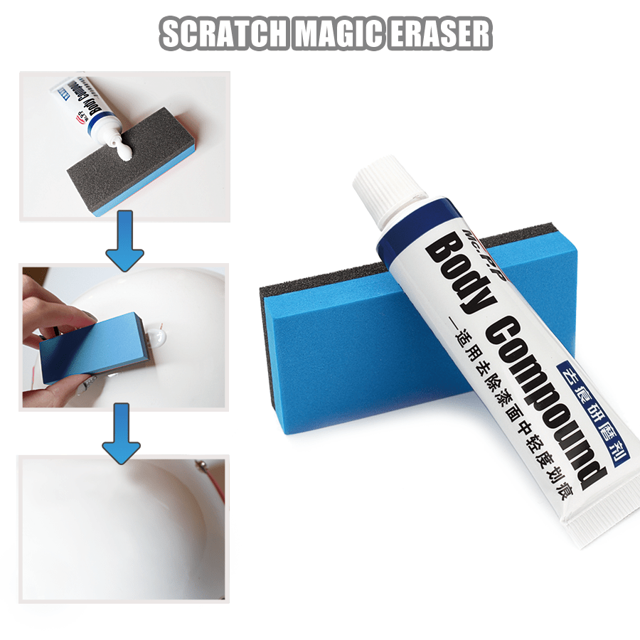 SCRATCH MAGIC ERASER - Remove Scratches