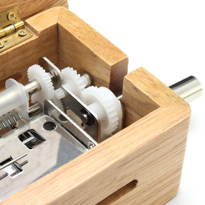 Hand Crafted Wooden Music Box Set
