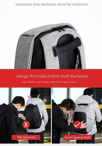 All in One Backpack - ANTI-THEFT BACKPACK -