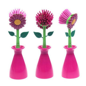 Flower Cleaning Brush