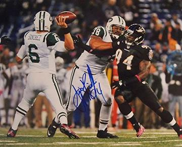 Baltimore Ravens Sergio Kindle Signed Autographed Glossy 8x10 Photo