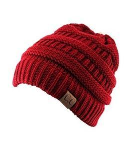 Cable Knit Beanie Skully