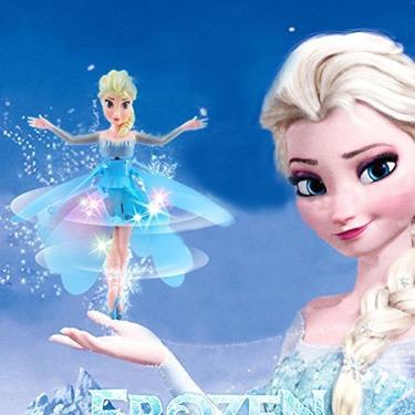 Flying Elsa Frozen Doll