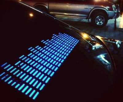 Car Rhythm Activated LED Sticker
