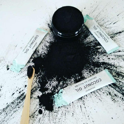 Activated Coconut Charcoal Teeth Whitening