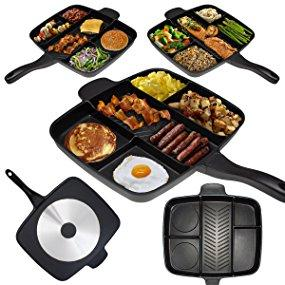 Multi Section Divider Frying Pan