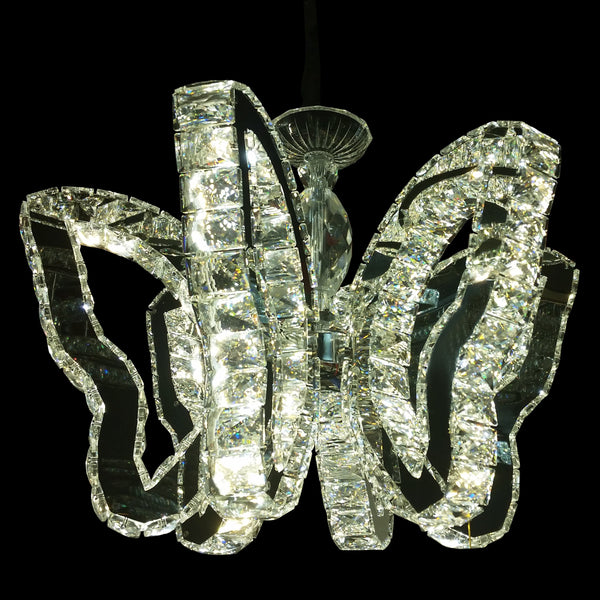 Morpho 6-Arm Crystal Pendant Butterfly Chandelier for Living room | Dinning