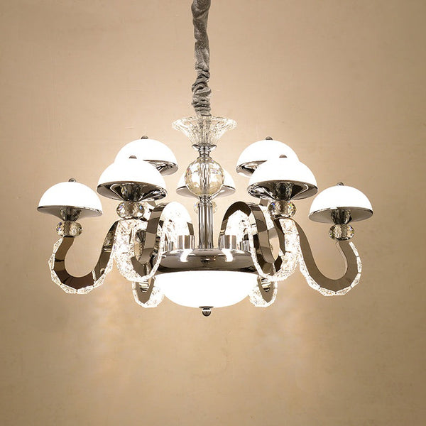 Bella 9-Light Crystal Chandelier