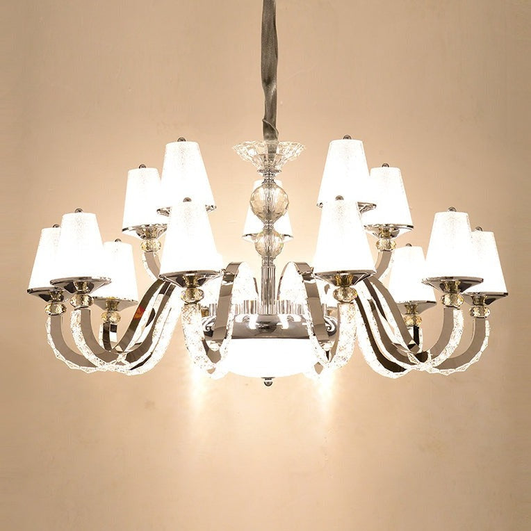 Classico 15-Light Shaded Crystal Chandelier