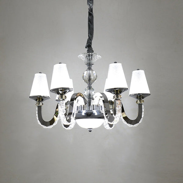 Classico 6-Light Shaded Crystal Chandelier