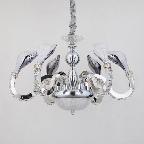 Odette 6-Light Crystal Chandelier