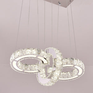 Infinity Crystal Ceiling Pendant | Easy Fit
