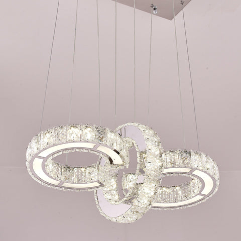Infinity Crystal Ceiling Pendant | East Fit