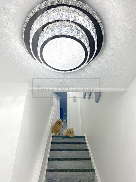 Small Timeless Flushed Ceiling Light | Easy Fit