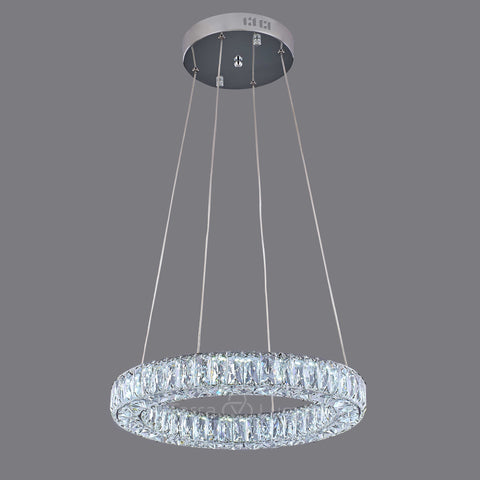 Julianna Single Ring Modern Crystal Chandelier | Pre-Order Now