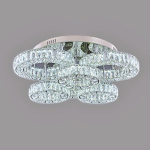 Julianna Collection 6-Ring Round Flushed Design